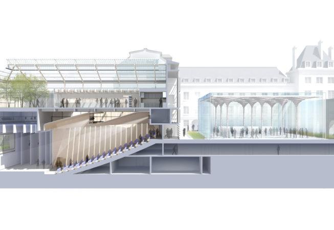 Institut de France coupe projet