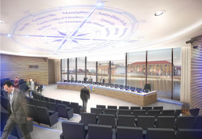 Le Havre CC Salle Conseil