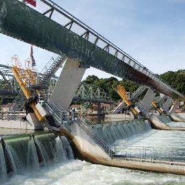 Barrage du Coudray-Montceaux