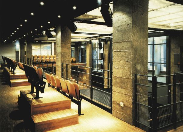 Paris la chaufferie mezzanine