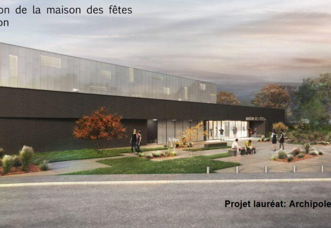 Projet lauréat: Archipole Rennes